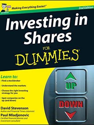 Paul Mladjenovic David Stevenson Investing in Shares For Dummies 2012 John Wiley Sons Inc