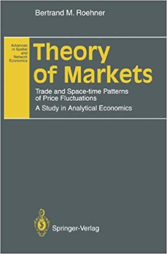 Theory of Markets Trade and Space time Patterns of Price Fluctuations A Study in Analytical Economics