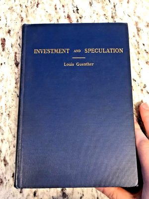 investment and speculation
