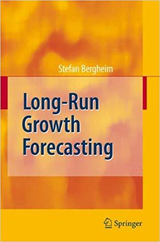 Stefan Bergheim Long Run Growth Forecasting Springer