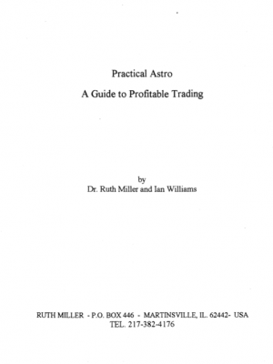 Ruth Miller Practical Astro a Guide to Profitable Trading