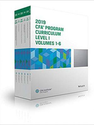 CFA Institute CFA Program Curriculum Level I Volumes CFA Institute