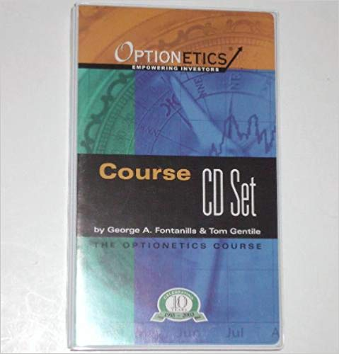 George A Fontanills Tom Gentile Cd Stocks Stock Market Options Trading Course