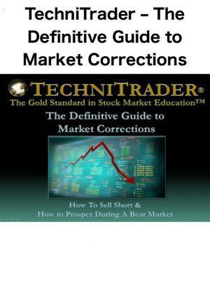 Techni Trader Market Corrections
