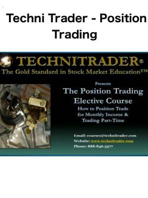 Techni Trader Position Trading