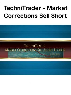 market correction sell short edition