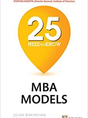 Need to Know MBA Models