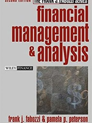 Financial Management and Analysis nd Edition
