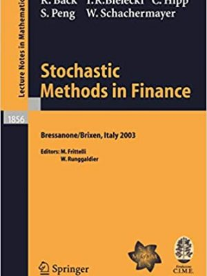 Stochastic Methods in Finance