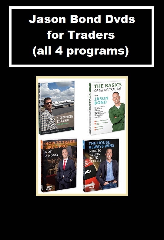 Jason Bond Dvds for Traders all programs